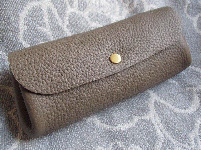 【新作】エトープ トリヨンのぷっくりポーチ  長財布並みのロングの画像1枚目