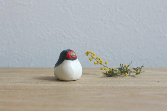 【暦鳥・春】ツバメ 国産ヒノキの木箱入り ※受注制作の画像1枚目