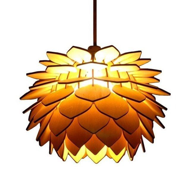 木製照明 ペンダントライト NLOの画像1枚目