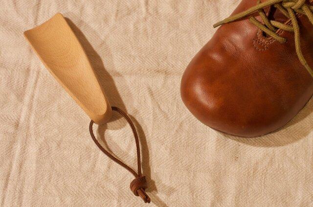 小さな靴べら(ボールヘッド)の画像1枚目