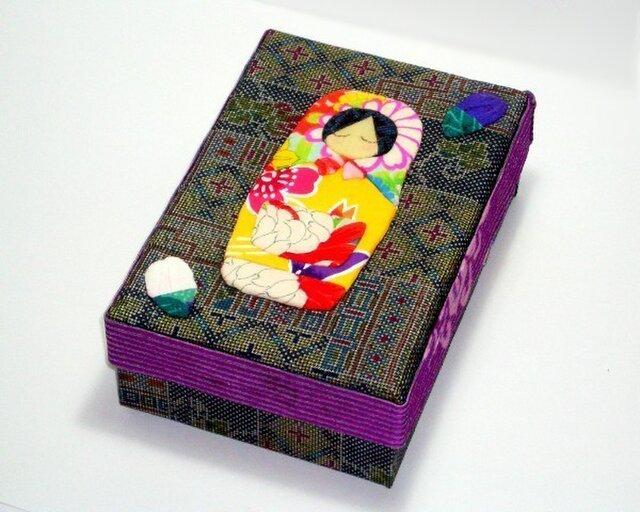 SALE!飾り箱 ーマトリョーシカ(kiki)ーの画像1枚目