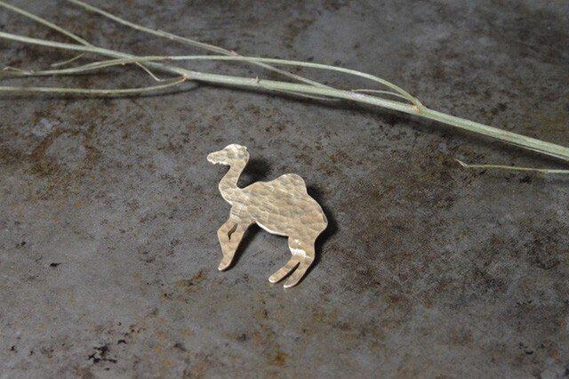 unodaisaku 動物シリーズ 動物ブローチ ラクダの画像1枚目
