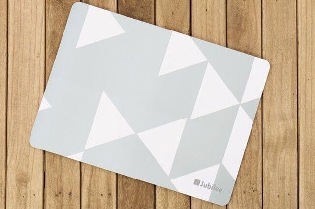 コルクランチョンマット 2枚組 グレーダイヤモンド 北欧柄 34×25cm jubileeteatowelcpm004の画像1枚目