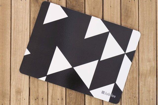 コルクランチョンマット 2枚組 ブラックダイヤモンド 北欧柄 34×25cm jubileeteatowelcpm003の画像1枚目