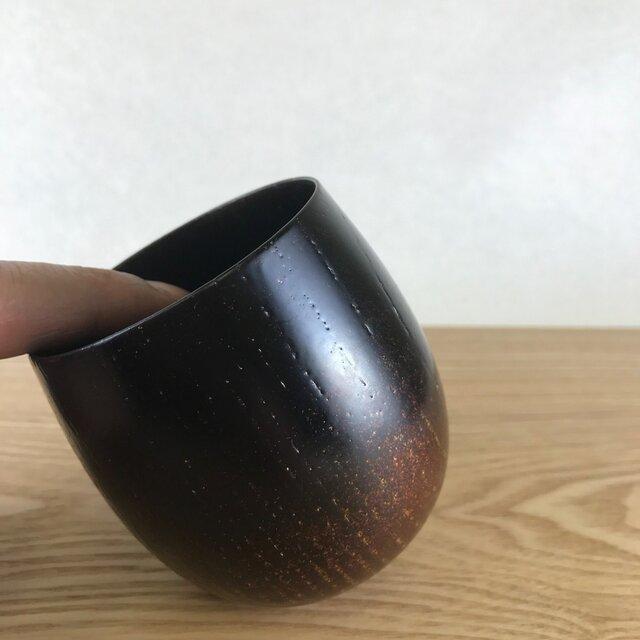 欅 たまゆらカップ 白檀塗(びゃくだんぬり)の画像1枚目