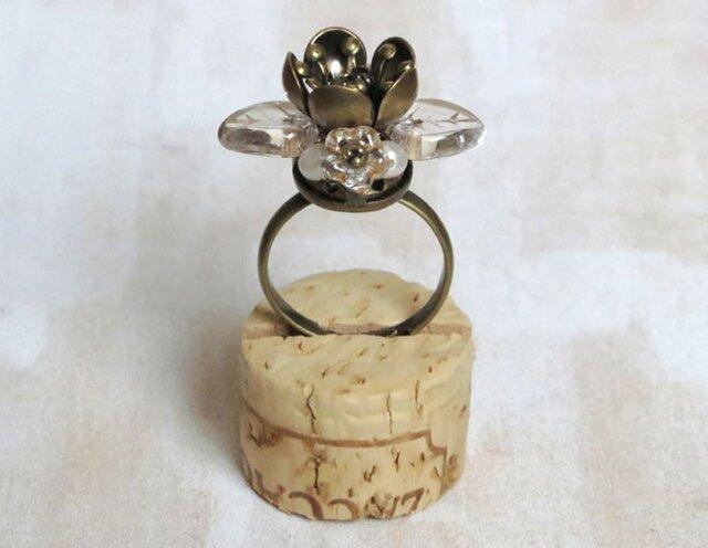 お花の指輪(おしべとめしべ 2)の画像1枚目