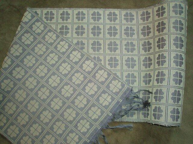 手織りクローバー名古屋帯 only one obi お仕立て・帯芯付きの画像1枚目