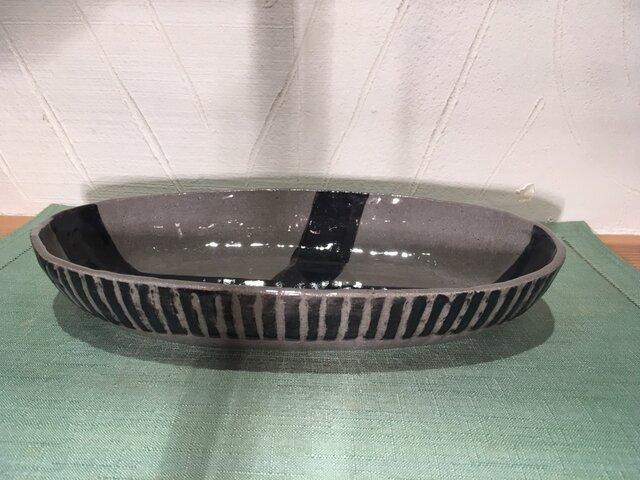 楕円形鉢 大の画像1枚目