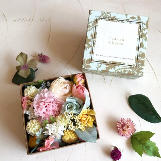 Box Flower パステルカラーの画像1枚目