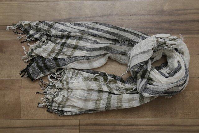 [限定生産] shawl K コットン100の画像1枚目