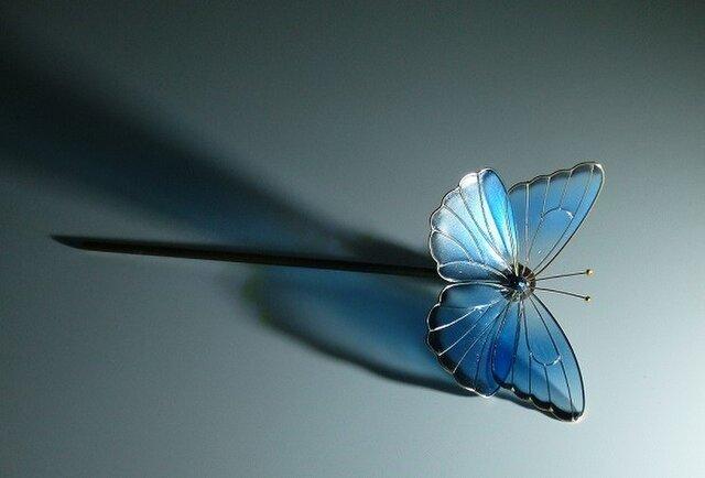 蝶の簪 一本ざしの画像1枚目