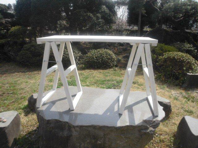 アンティーク風 カフェテーブルの画像1枚目