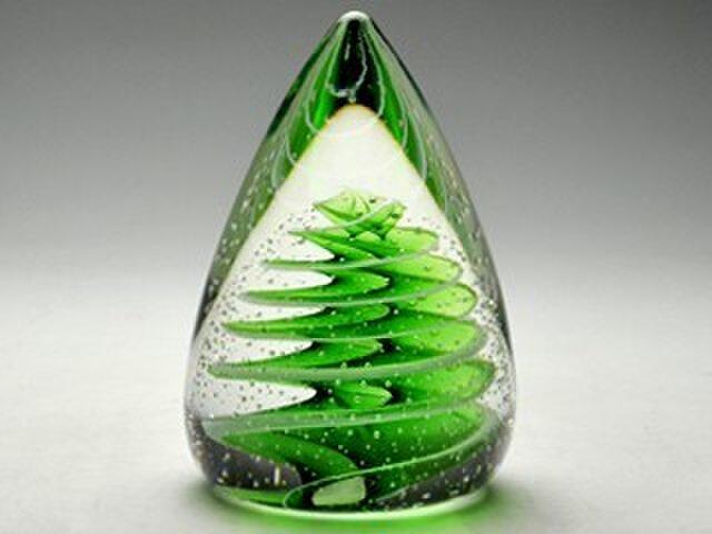 ガラスのツリー - Fresh Green -の画像1枚目