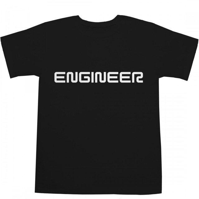ENGINEER Tシャツの画像1枚目