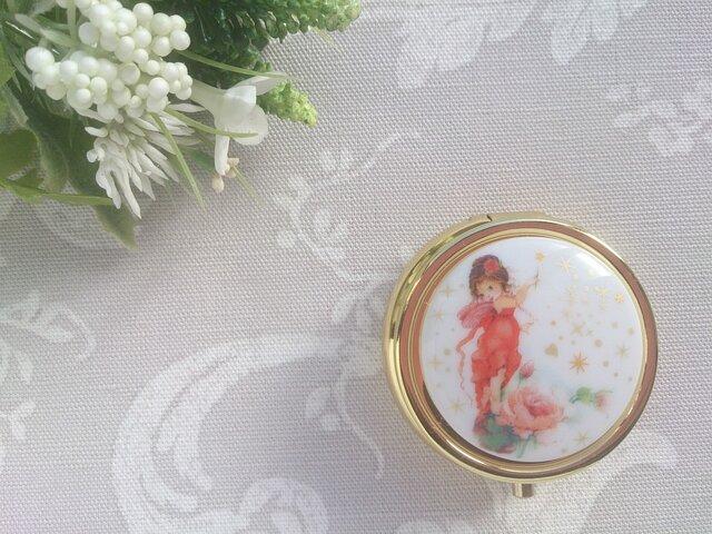 薔薇の妖精 コンパクトミラー付きケースの画像1枚目