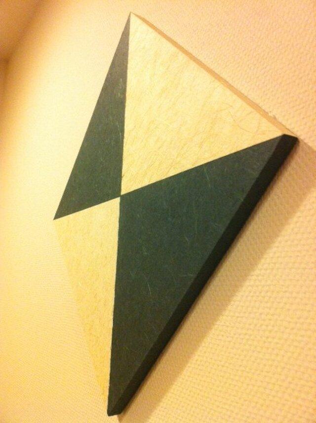 和紙壁がけボード・ひしがたの画像1枚目