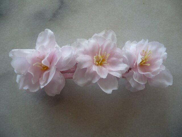 桜のバレッタ の画像1枚目
