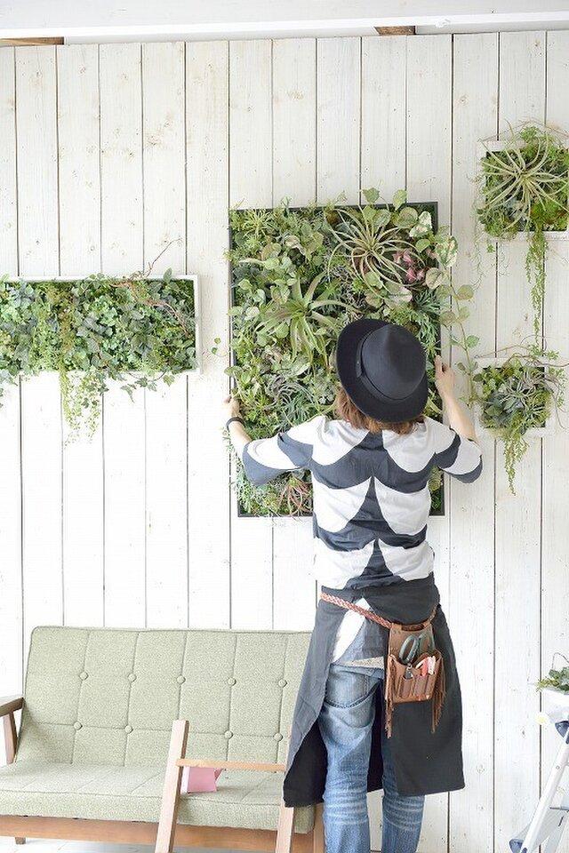 interior green 90×60 ¥120000の画像1枚目