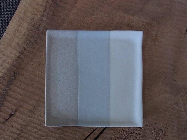 平小皿 グレーの画像1枚目
