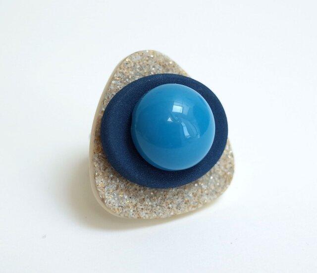 海辺のリングD<ふたつのブルー>の画像1枚目