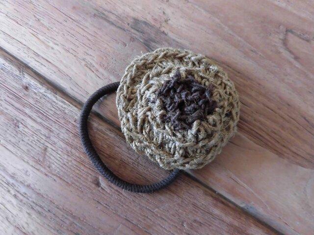 麻紐のヘアゴム(136)の画像1枚目