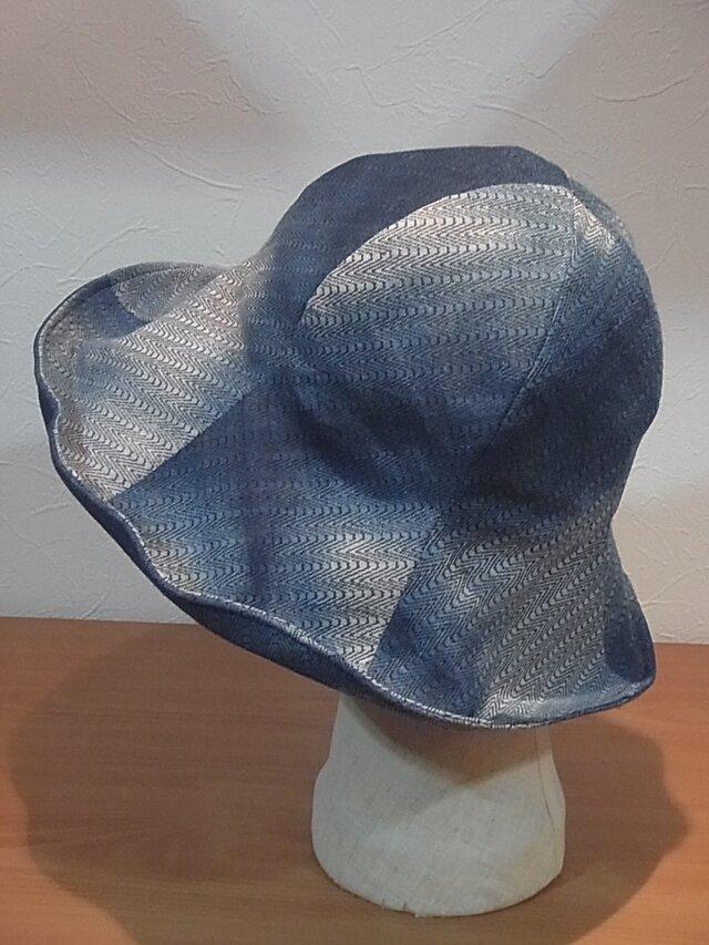 藍染のチューリップの画像1枚目