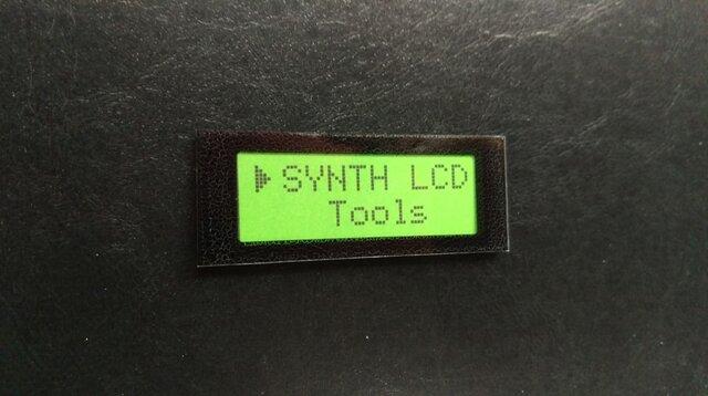 【ネームプレート】液晶LCD・ネームプレート/グリーンの画像1枚目