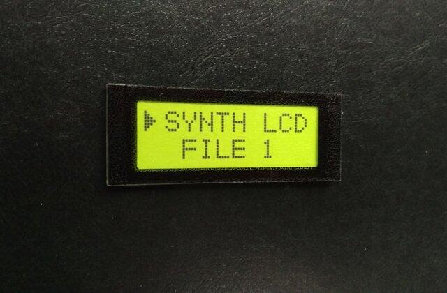 【ネームプレート】液晶LCD・ネームプレート/ライムグリーンの画像1枚目