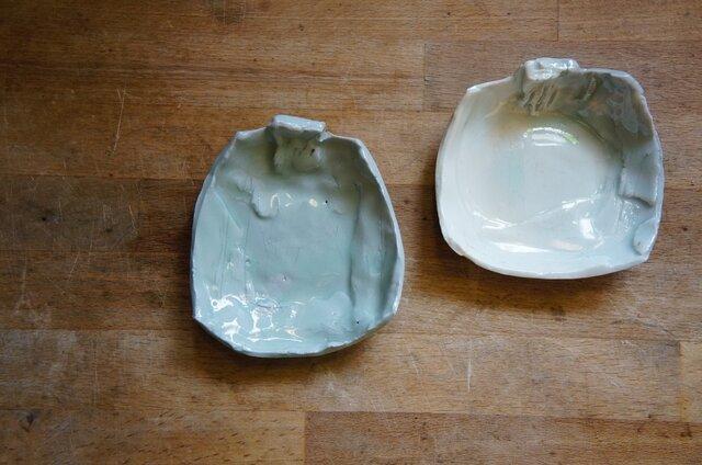 雲釉小皿 の画像1枚目