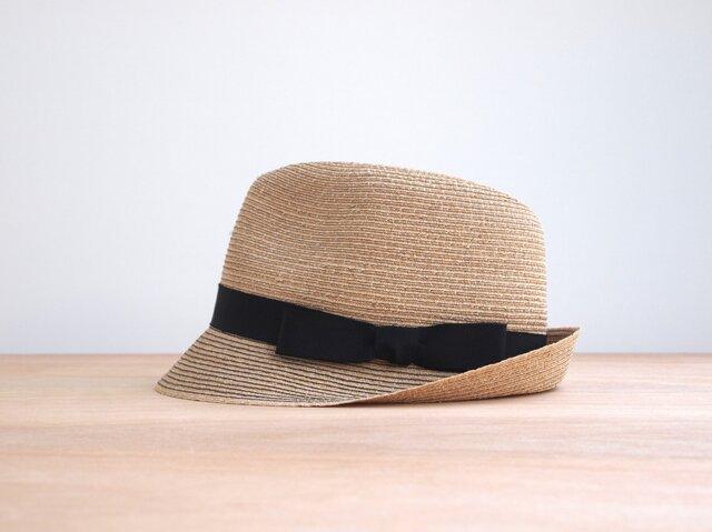 Black Stitched Hatの画像1枚目