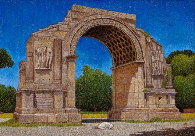 果報は寝て待て~グラヌムの凱旋門の画像1枚目