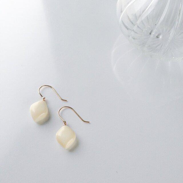 k10✼Makkoh pierced earrings 92002の画像1枚目