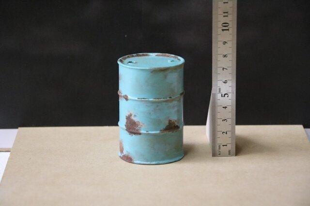 015 ドラム缶200リットルタイプ エージング塗装の画像1枚目