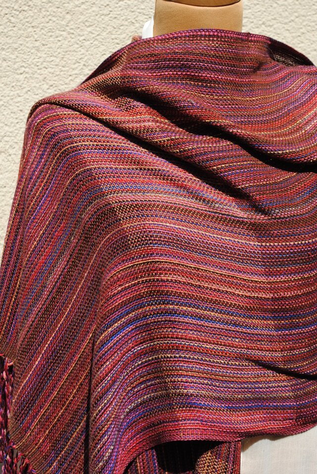 手織シルクストールfの画像1枚目