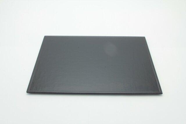 幅45cm麻布盆 黒の画像1枚目
