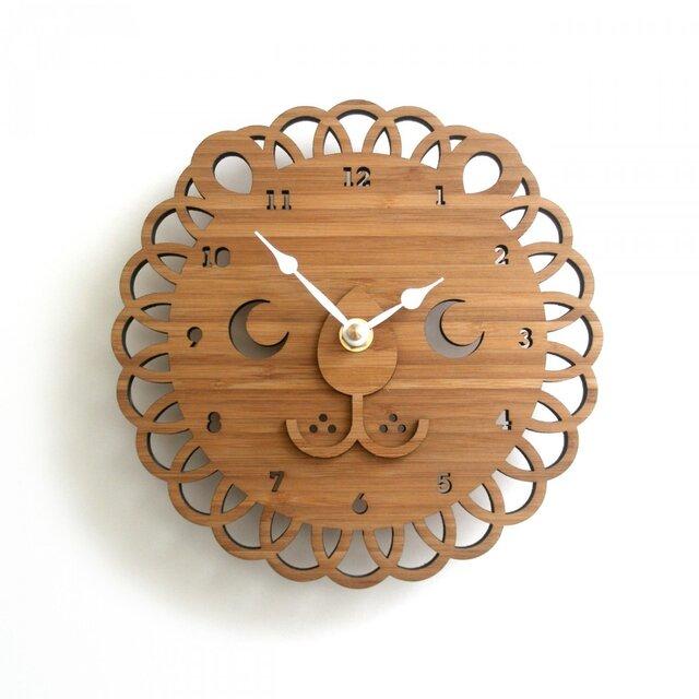 LION ライオンの掛け時計(Sサイズ)の画像1枚目