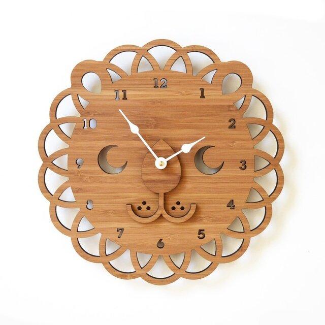 LION ライオンの掛け時計(Lサイズ)の画像1枚目