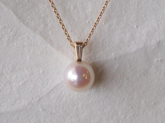 アコヤ本真珠ネックレスの画像1枚目