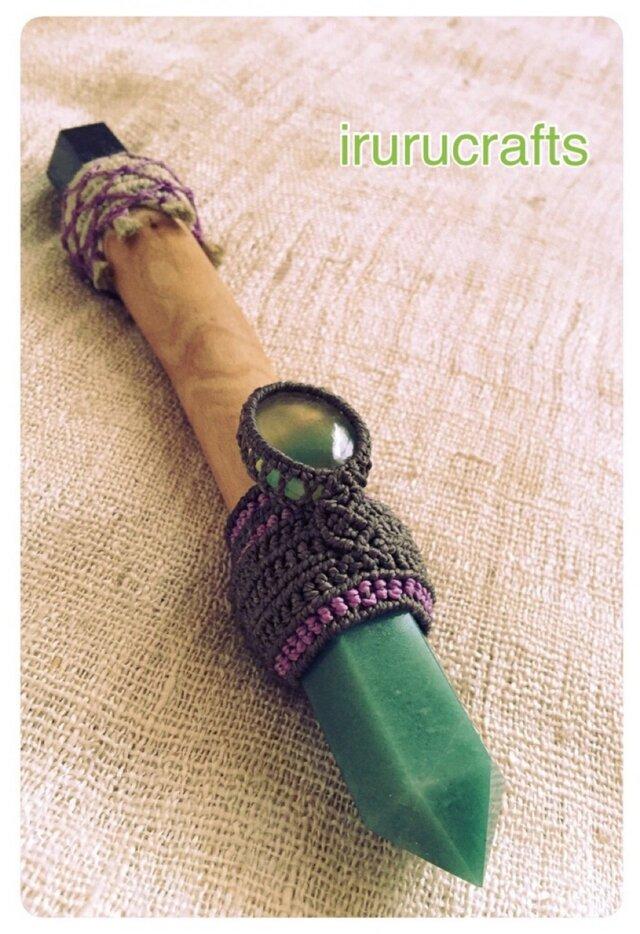 魔法の杖(アヴェンチュリン&ソーダライト)の画像1枚目