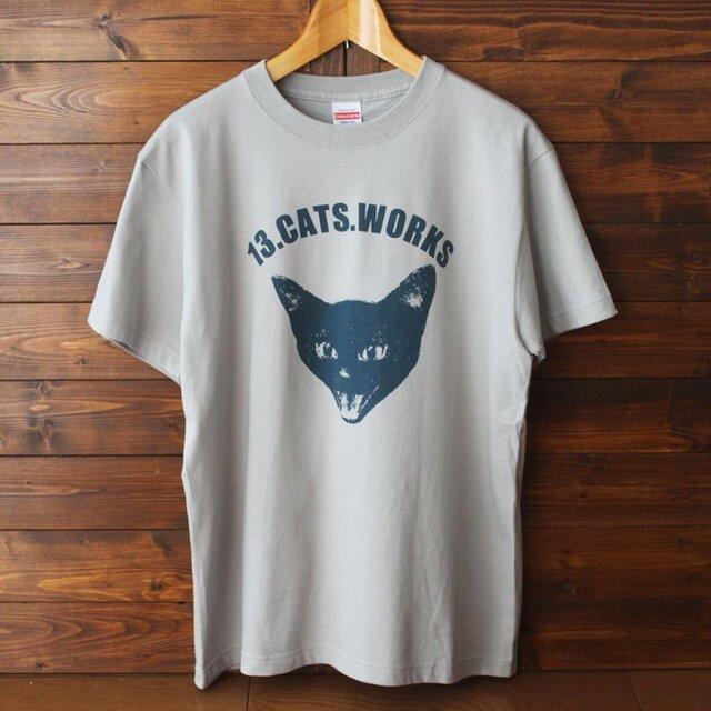 Tシャツ(VIVI FACE)-シルクスクリーン-13.CATS.WORKSオリジナルの画像1枚目