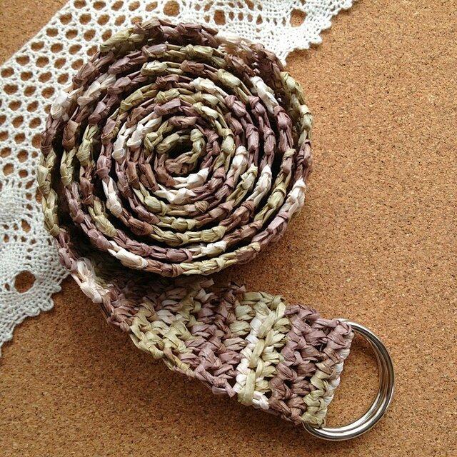 かぎ針編みのベルトの画像1枚目