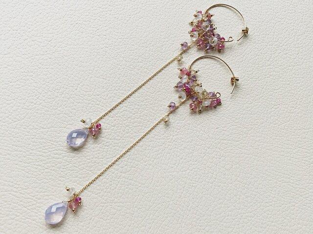 Scorolite earringsの画像1枚目