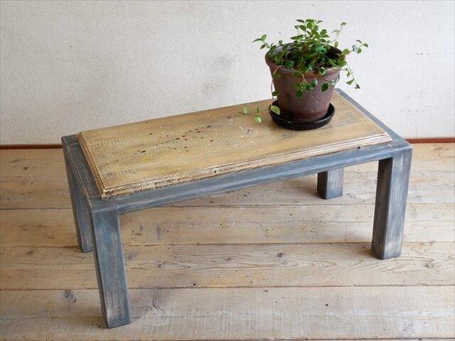 可愛く仕上げたアンティーク風コーヒーテーブルの画像1枚目
