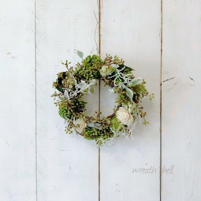 Green wreath ・たくさんのツイッグの画像1枚目