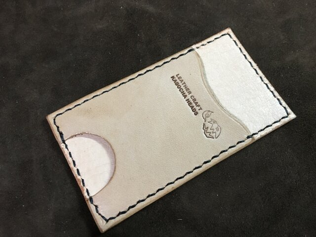 【T様オーダー品】本革製シンプルなカードキーケースの画像1枚目