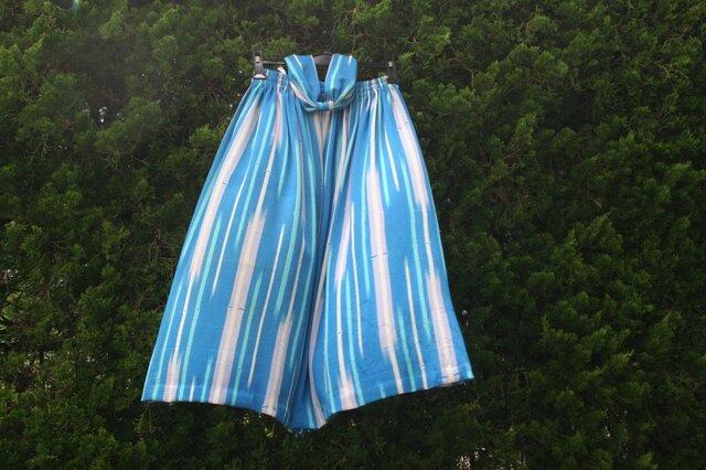 絽縮緬 透けるスカートの画像1枚目