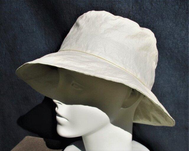 機能性和紙帽子ダウン・オフホワイトの画像1枚目