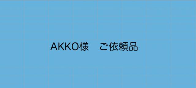 AKKO様 ご依頼品の画像1枚目