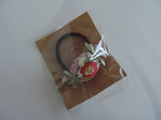リバティシリーズ ~ キャンディ髪ゴム(ベッツィ ピンク) ~の画像1枚目