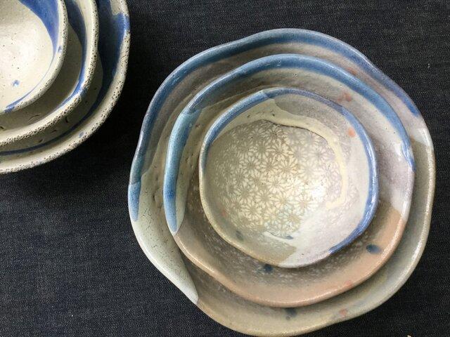 印花のマトリョーシカ鉢の画像1枚目